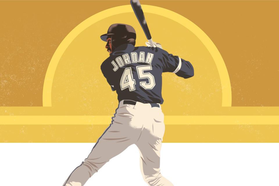 История краткого пребывания Майкла Джордана в стране бейсбола