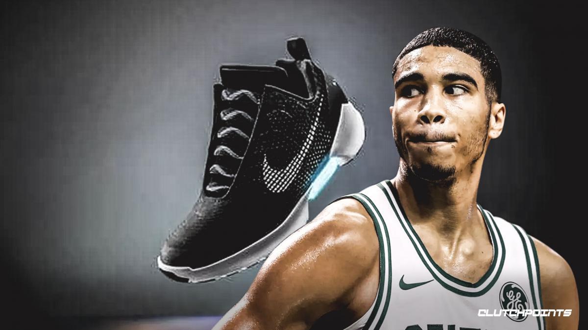 a0c4d1a9 Джейсон Тейтум станет первым спортсменом, который выступит в  самошнурующихся кроссовках Nike
