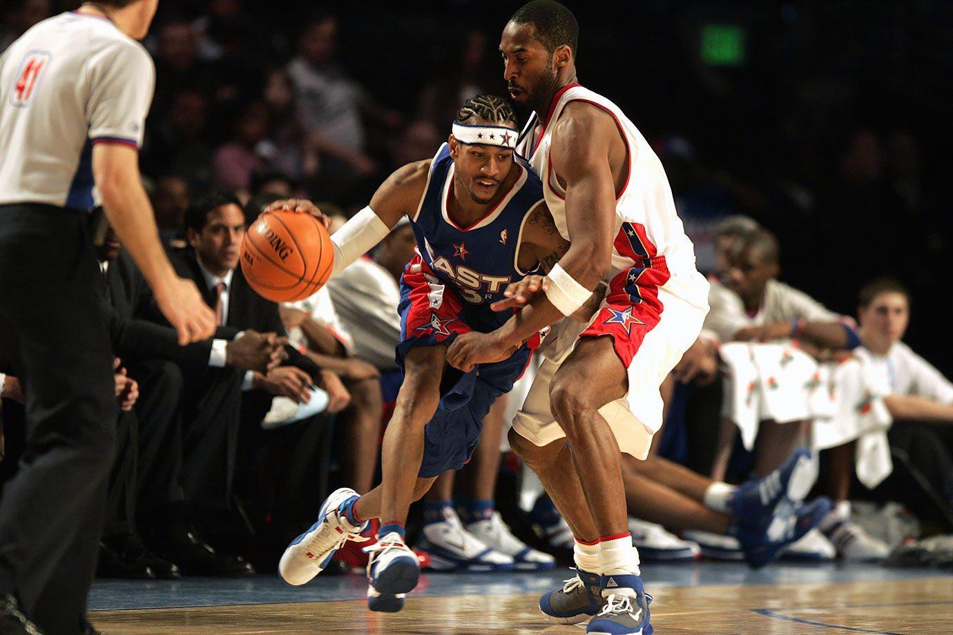 Все кроссовки Аллена Айверсона на Матчах Всех Звезд НБА #Slamdunk.kicks