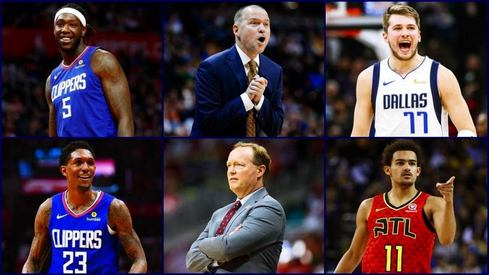 Награды НБА: лучший ШЕСТОЙ, ТРЕНЕР и НОВИЧОК. Кому что достанется?