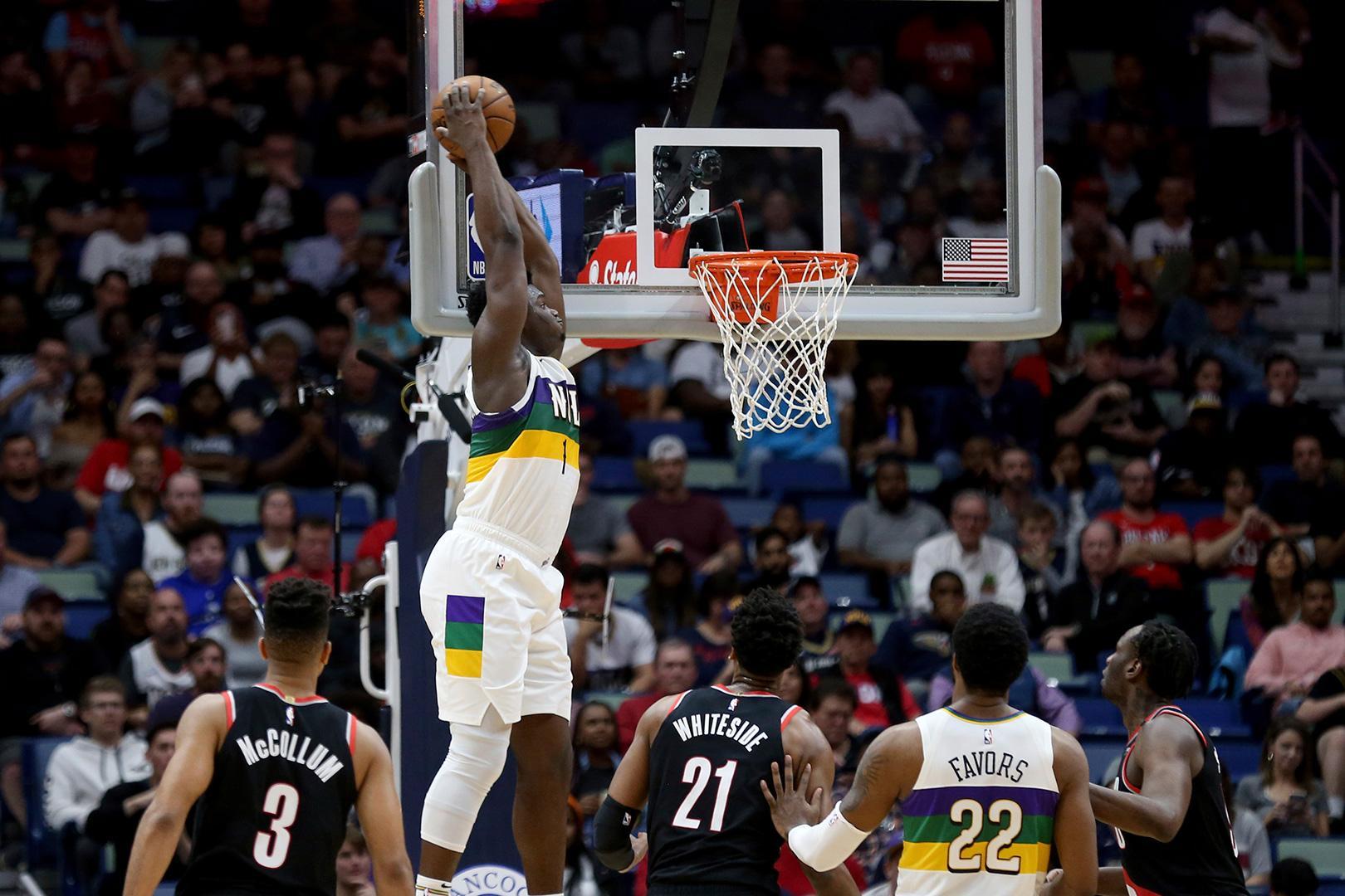 Зайон Уильямсон - суперзвезда НБА в 19 лет