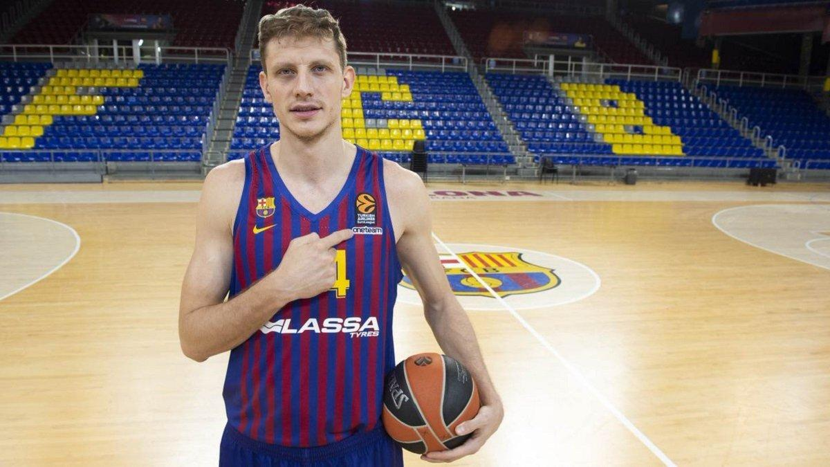 Украинский игрок Артём Пустовой покинет «Барселону»